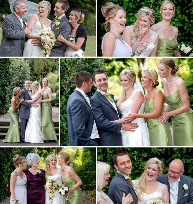 Bagden Hall wedding photography - Daryl and Emily's wedding photographs