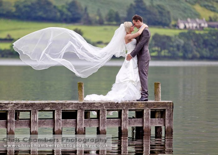 Lake District Portfolio Day - photograph a Bride and groom in the stunning Autumnal Lake District