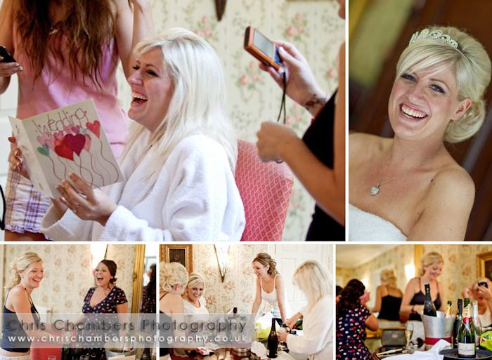 Hazlewood Castle wedding photographs - Andrew and Katie's wedding at Hazlewood Castle York