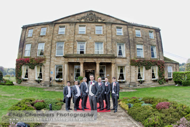 Walton Hall wedding venue near Wakefield west yorkshire
