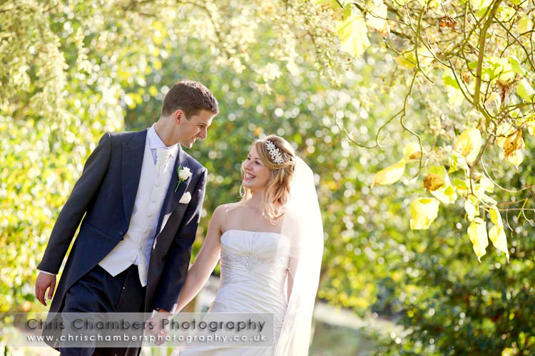 Hodsock Priory wedding photography - Wedding photographs at Hodsock Priory