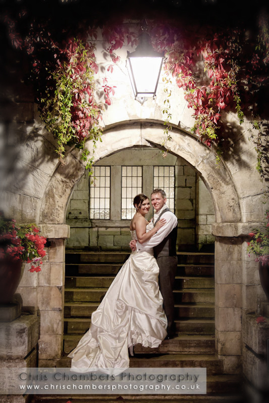 Hazlewood Castle weddings. Wedding photography Chris Chambers