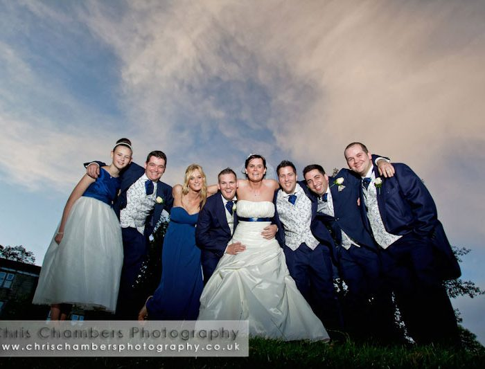Holiday Inn Tong wedding photographs - Claire and Tim's wedding photography