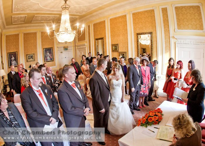 Hazlewood Castle weddings - Paul and Gemma's wedding photography at Hazlewood Castle