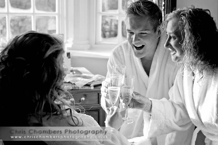 wedding photography at Goldsborough Hall