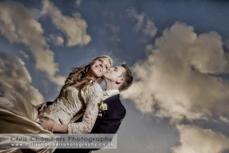 Hazlewood Castle wedding photograph