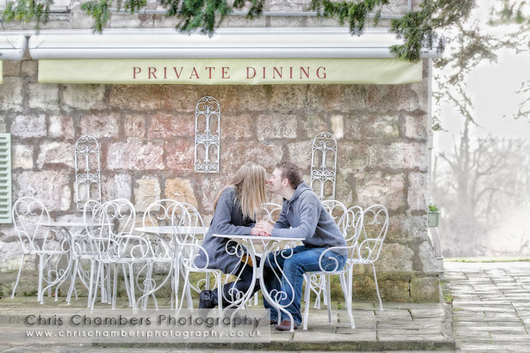 pre wedding photography and pre wedding photo shoot at Hazlewood Castle