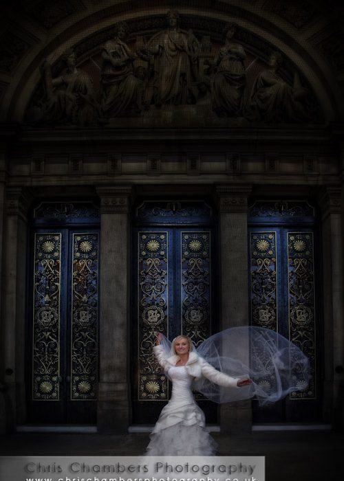 Urban weddings photography training course - Leeds city centre January 2012