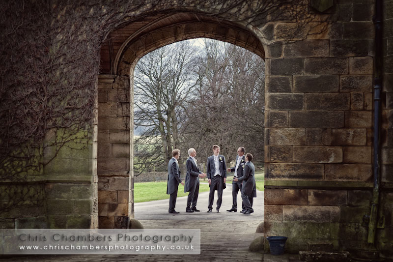 Weddings at Swinton Park near Masham - Swinton Park wedding photographers