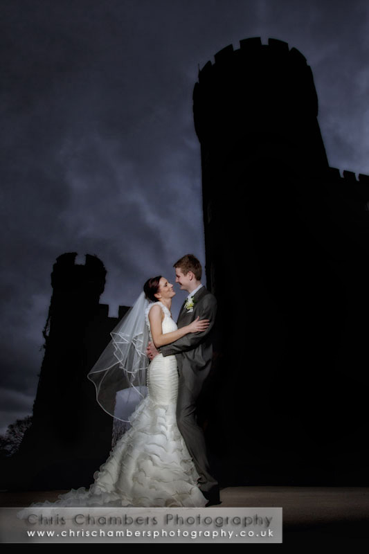 Swinton Park wedding photograph