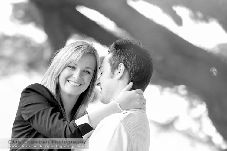 Allerton Castle pre-wedding photo shoot with Adrian and Hannah.