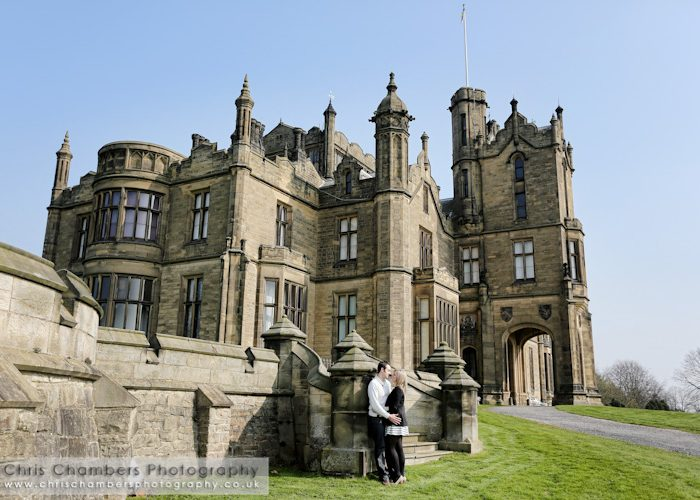 Allerton Castle wedding photography - Hannah and Adrian's Pre-wedding photo shoot