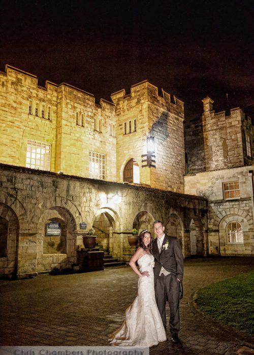 Hazlewood Castle Wedding Photography - Nick and Rebecca's York wedding photos