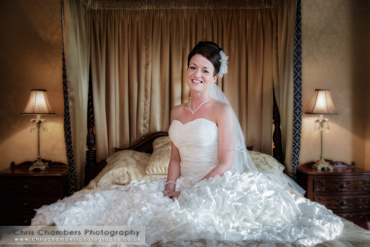 West yorkshire wedding photographs : pontefract weddings
