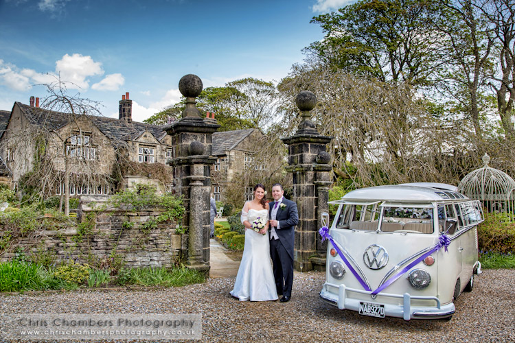 Wedding photograph Holdsworth House
