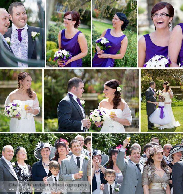 Wedding photograph Holdsworth House