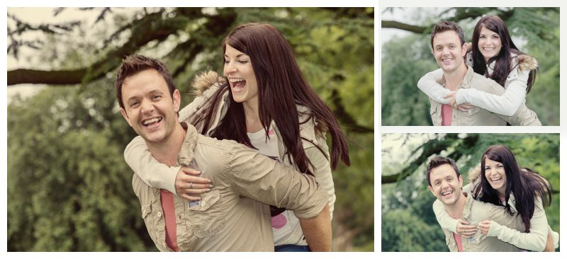 Hazlewood Castle pre-wedding photography - engagement photos at Hazlewood Castle
