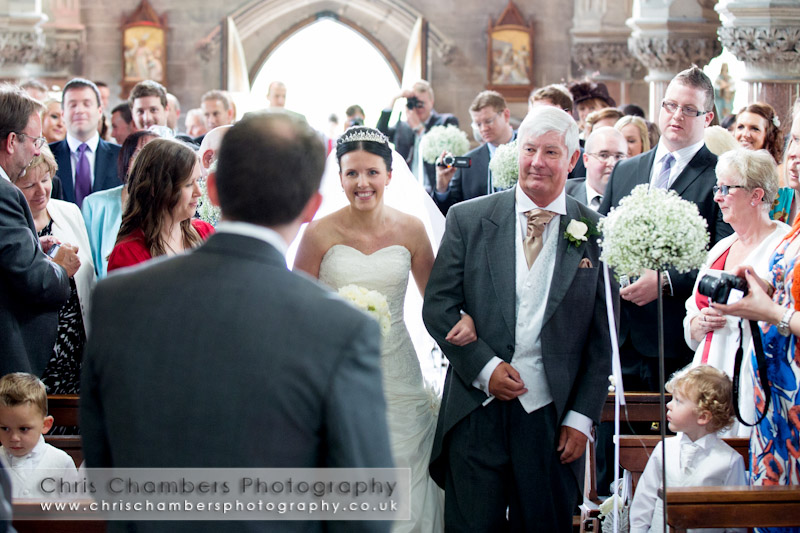 Weddings photos at Rudding Park Harrogate - In the chapel at Rudding Park