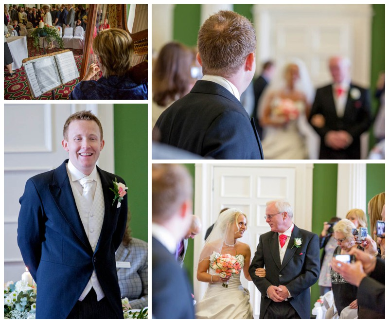 Hazlewood Castle wedding photographer