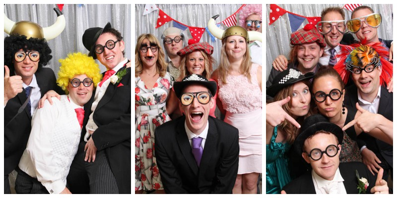 wedding photo booth photo