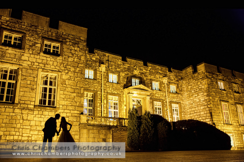 Hazlewood Castle weddings - wedding photography at Hazlewood Castle near York
