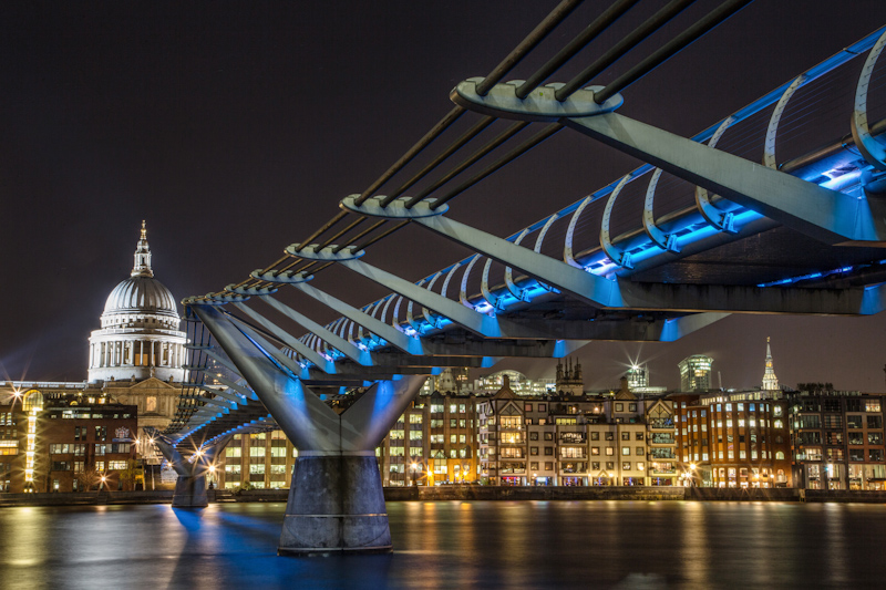 London night time photography