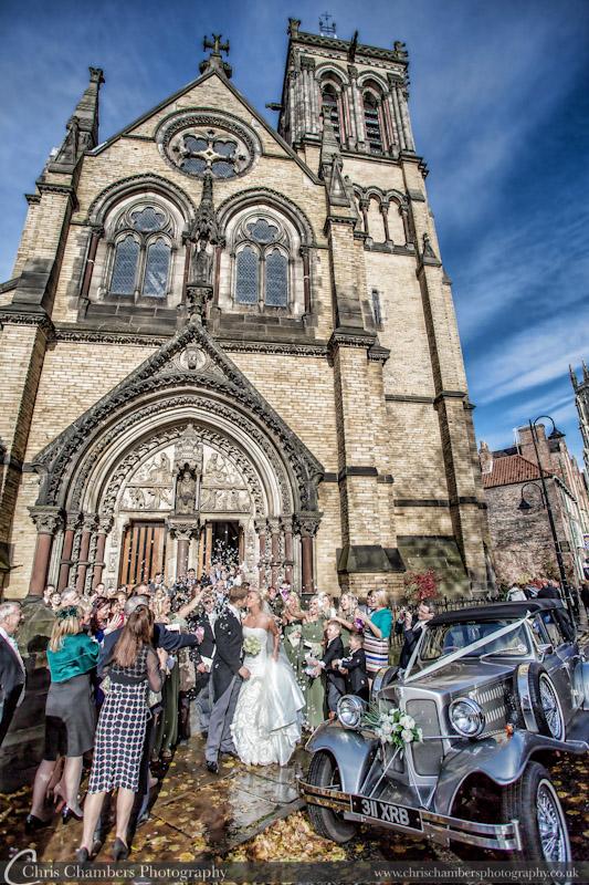 Sandburn Hall wedding photography - York wedding photographer