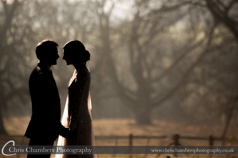 pre-wedding shoot at Hazlewood Castle near York