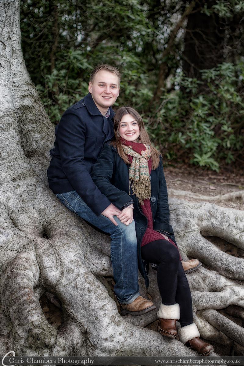 Allerton Castle pre-wedding photo shoot