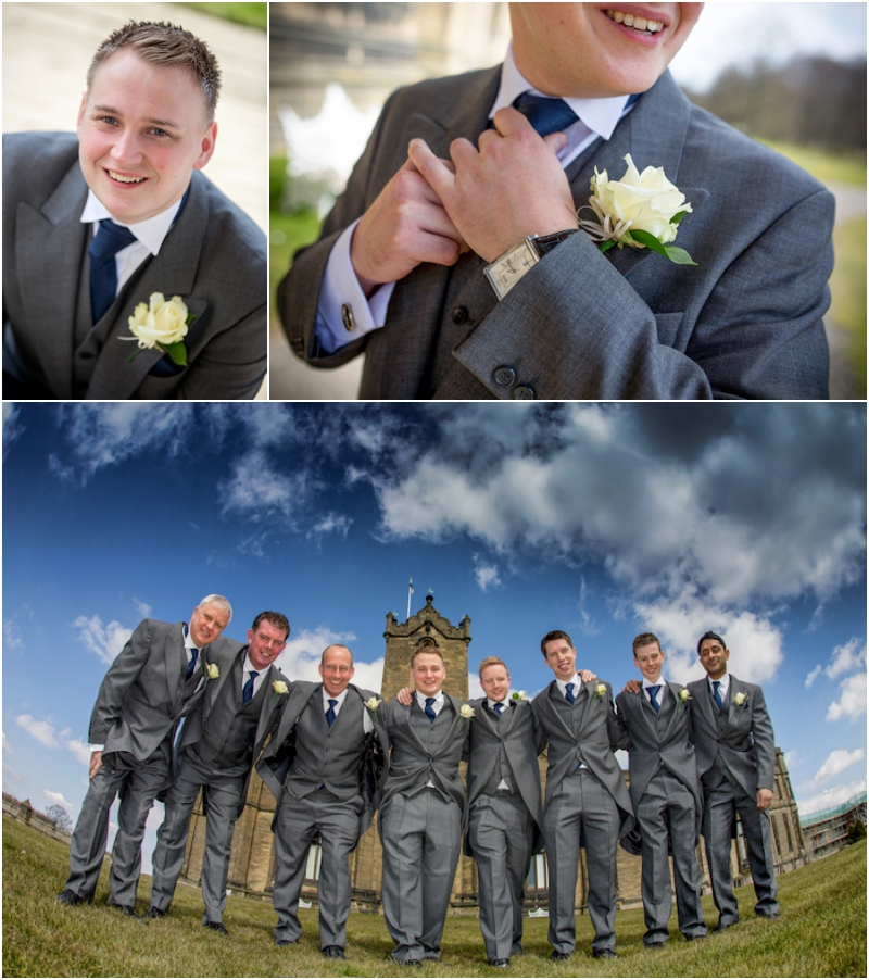 Allerton Castle wedding photography - Allerton Castle wedding photographs