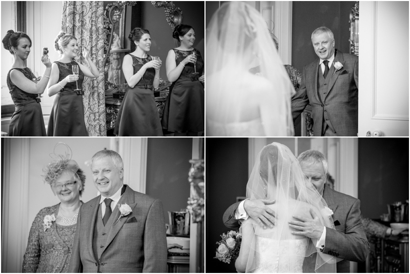 wedding photographs from Allerton Castle - Allerton Castle wedding photographer