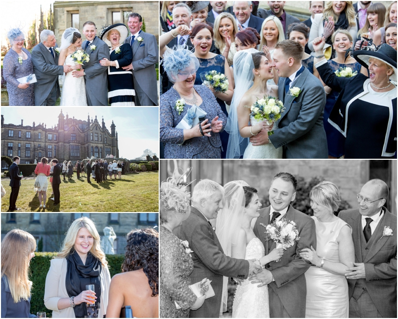 Allerton Castle wedding photographer - Allerton Castle wedding photo