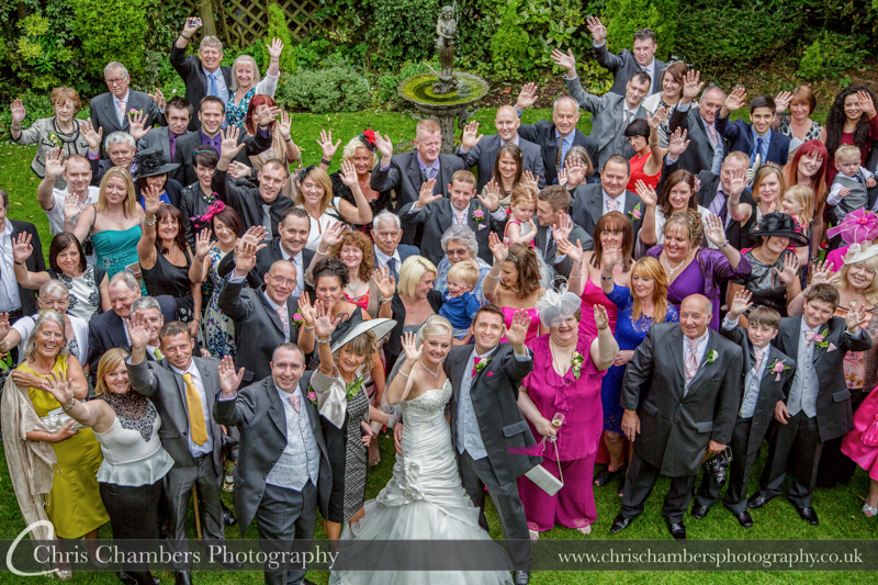 York wedding photography - The Pavilion Hotel wedding photograph