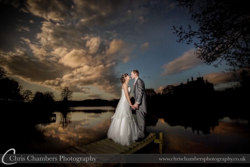 Ripley Castle wedding photography