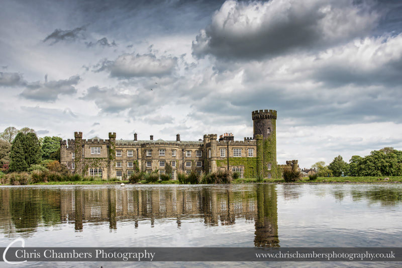 Swinton Park and Lake. Swinton park Hotel wedding venue near Masham North yorkshire