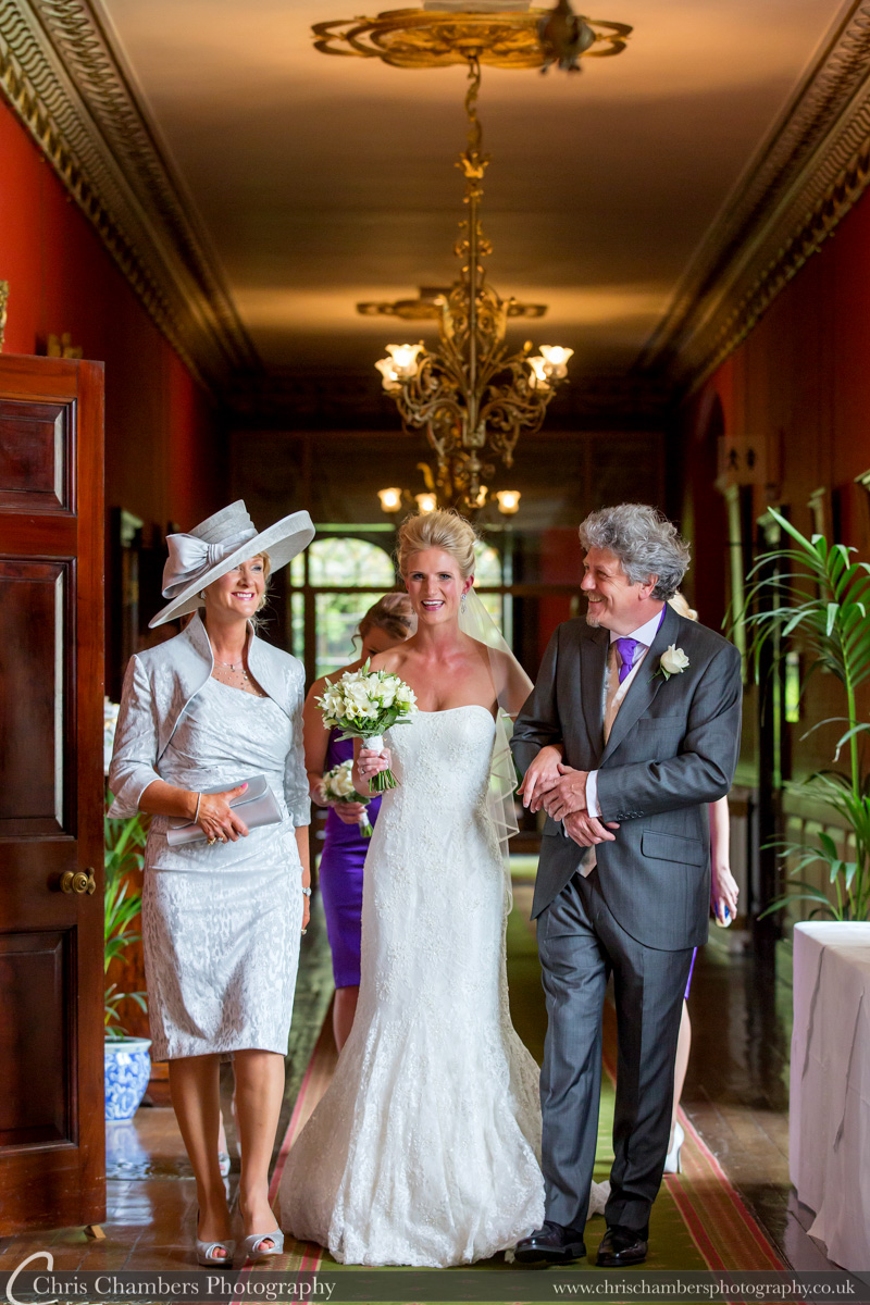 Wedding photography at Swinton Park North Yorkshire. Swinton Park weddings