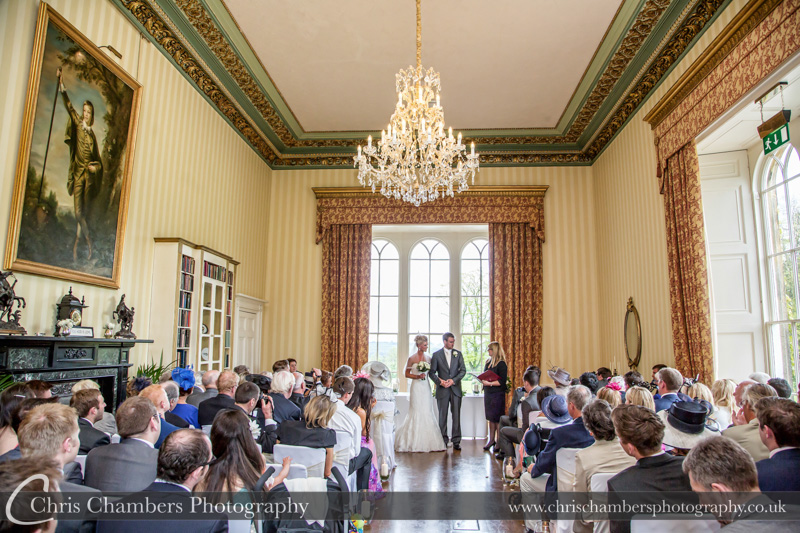 Wedding photographs at Swinton Park. Swinton Park wedding photographers