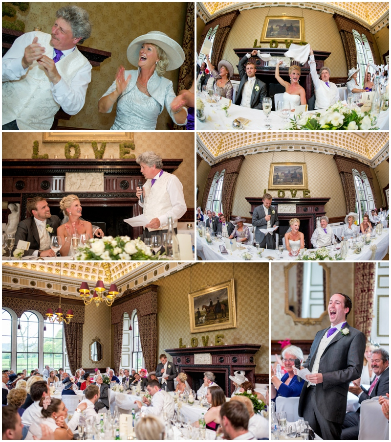 Wedding photographs at Swinton Park