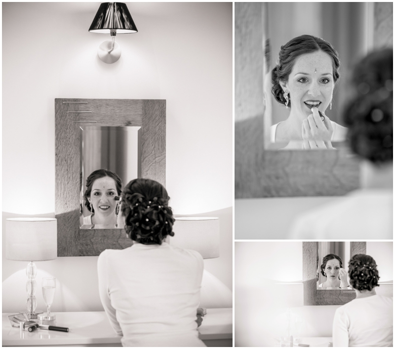 bridal prep at newton house, newton house wedding photography