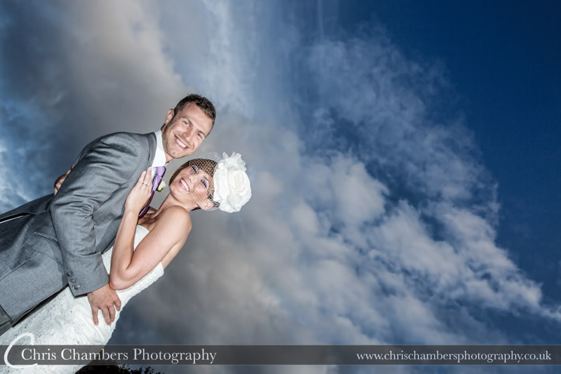 Woodlands Hotel Leeds - wedding photographs with drama