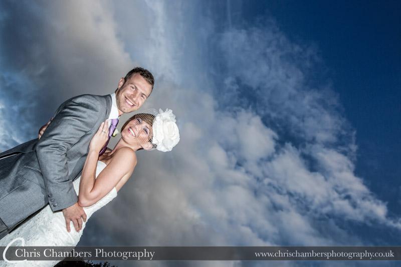 Woodlands Hotel Leeds - wedding photographs with drama