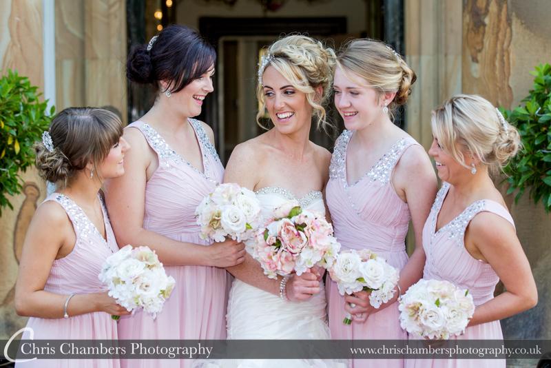 Bridal party at Waterton park Hotel