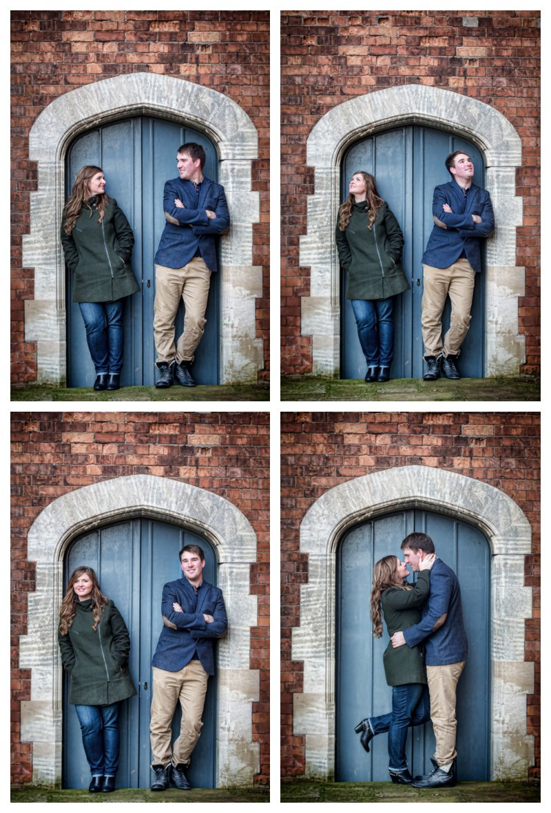 Pre-wedding photo shoot at Hodsock Priory
