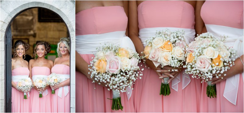 Creative wedding photographs, Hodsock priory wedding venue Nottinghamshire