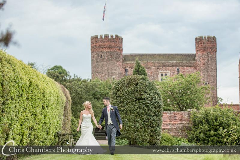 Landscape wedding photography - Wedding photography at Hodsock Priory