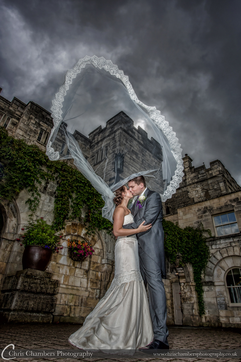 Wedding Photographs taken at Hazlewood Castle