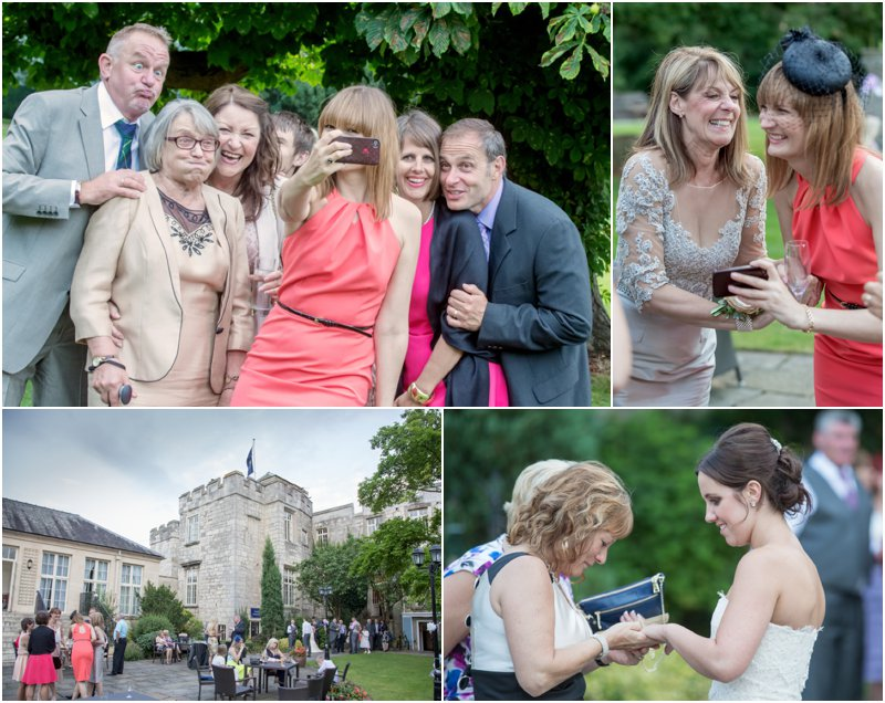 Wedding Photography taken at Hazlewood Castle