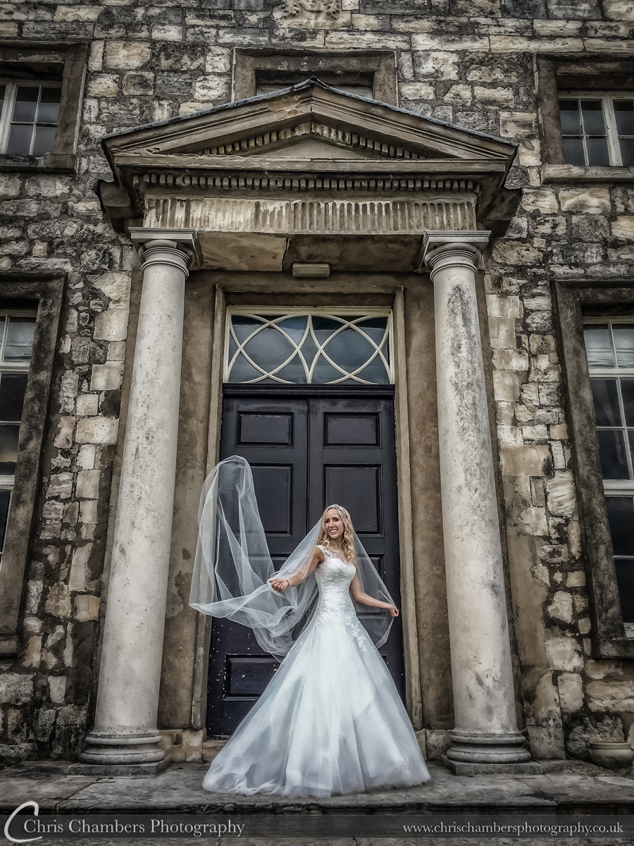 Hazlewood Castle weddings - iPhone wedding photograph