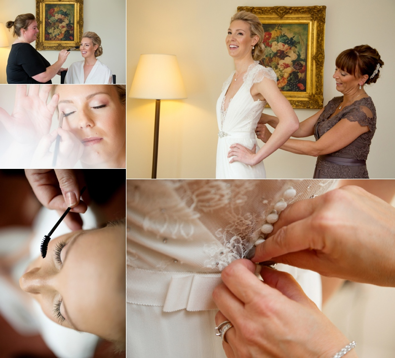 Bridal Preparation Wedding Photography at Nostell Priory