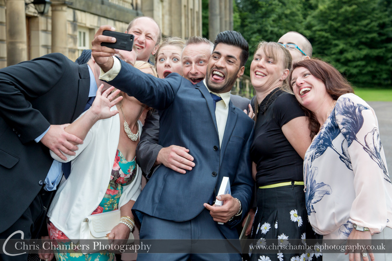 Wedding Photograph of Nostell Priory